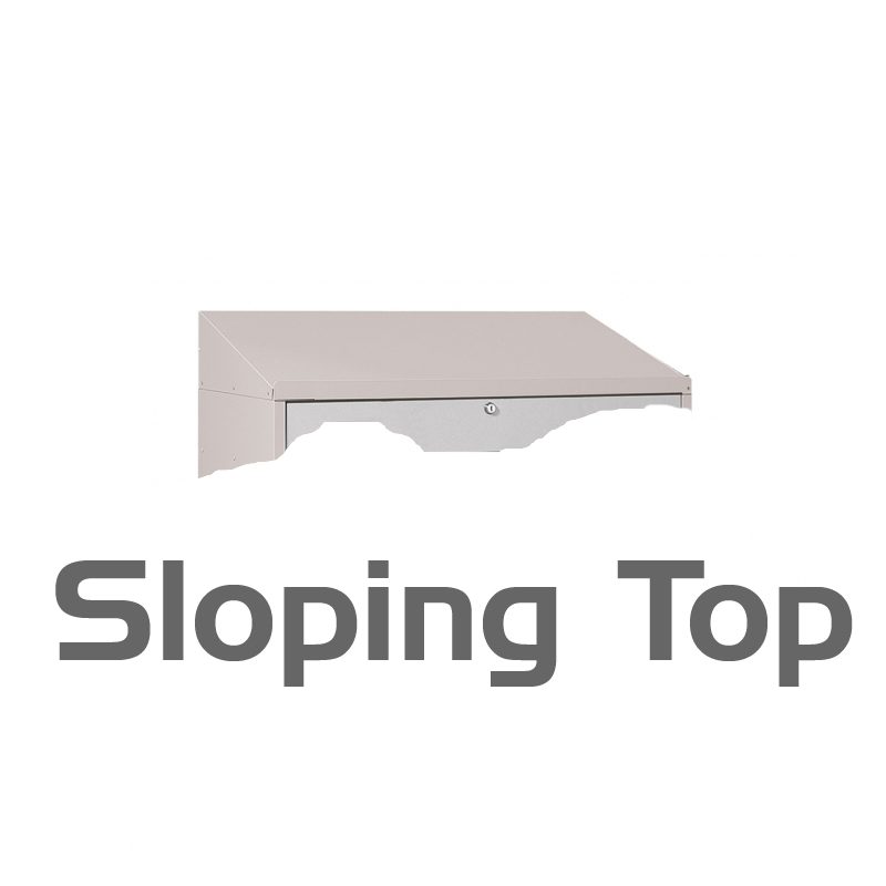 Sloping Top for FPD-11280, 11281, 11282