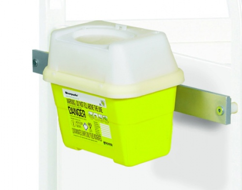 Sharps Box Bracket Frontier Type