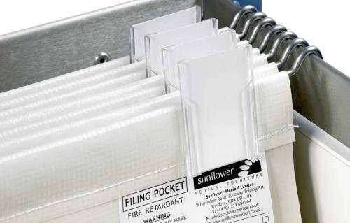 Wide Filling Pocket Foolscap 450mm wide x 270mm depth